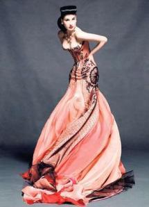 J'Aton Amazing dress - Dita Von Teese -